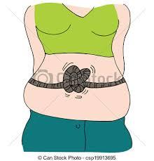 stomach knots